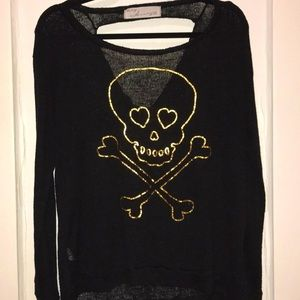 Vintage Havana Sweater with skull print